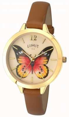 Limit Orologio da donna in pelle a farfalla da giardino segreto 6275.73