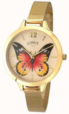 Limit Orologio da donna a forma di farfalla da giardino in oro segreta 6276.73