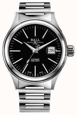 Ball Watch Company Vigile del fuoco automatico 40mm data extra cinturino extra nato NM2188C-S5J-BK