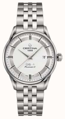 Certina Mens ds-1 powermatic 80 orologio automatico C0298071103160