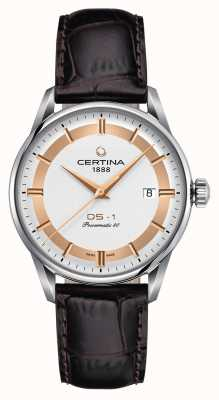 Certina Mens ds-1 orologio in edizione speciale powermatic 80 himalaya C0298071603160