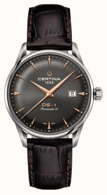 Certina Mens ds-1 powermatic 80 orologio automatico C0298071608101