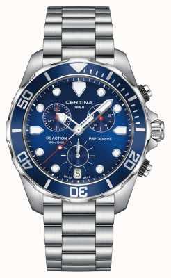 Certina Orologio da uomo cronografo precomime da uomo 300 m C0324171104100