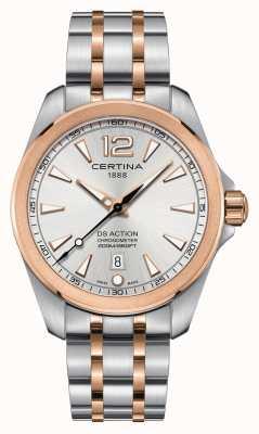 Certina Orologio da uomo con cronometro d'azione C0328512203700