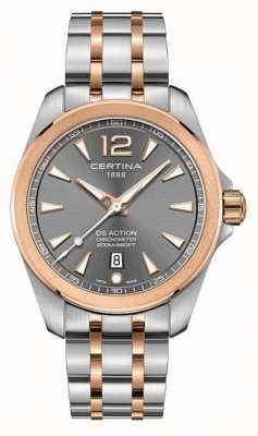 Certina Orologio da uomo con cronometro d'azione C0328512208700