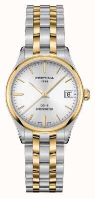 Certina Orologio da donna con cronometro al quarzo ds-8 C0332512203100