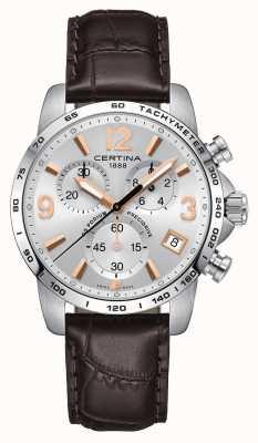 Certina Orologio cronografo precidrive da uomo ds podium C0344171603701