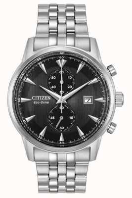 Citizen Bracciale in acciaio con datario cronografo da uomo CA7000-55E
