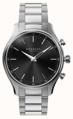 Kronaby Bracciale in metallo acciaio bluetooth sekel 38mm a1000-2750 S2750/1