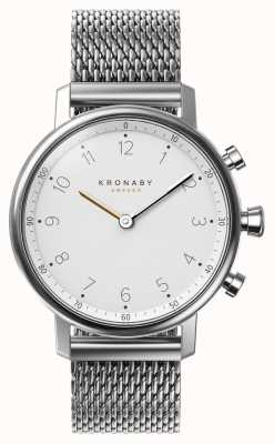 Kronaby Bracciale a maglie in acciaio bluetooth nord 38mm a1000-0793 S0793/1