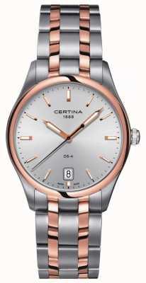 Certina | orologio da uomo al quarzo ds-4 | cinturino in acciaio inossidabile C0224102203100