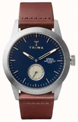 Triwa Duke spira marrone classico argento SPST104-CL010212
