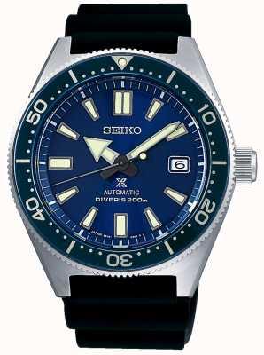 Seiko Prospex blu marino quadrante blu con castone a vite corona SPB053J1