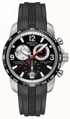 Certina Mens ds podium large size chrono gmt quarzo C0016392705700