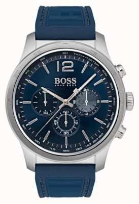 Hugo Boss Orologio cronografo professionale da uomo blu 1513526