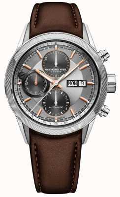 Raymond Weil Orologio cronografo da uomo freelancer automatico 7731-SC2-65655