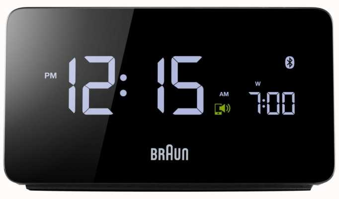 Braun Sveglia bluetooth digitale BNC020BK