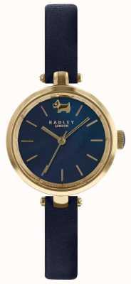 Radley Cinturino in pelle d'inchiostro con quadrante blu navy da donna RY2656