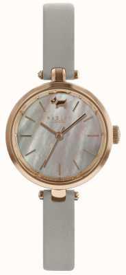 Radley Cinturino in pelle di frassino quadrante grigio con quadrante da donna RY2658