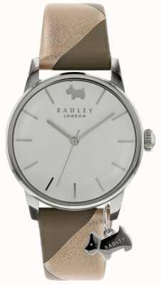 Radley Cassa da donna in argento 35mm argento / quadrante bianco con ciondolo in argento RY2647