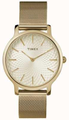 Timex Bracciale in oro giallo 34mm / quadrante in oro TW2R36100