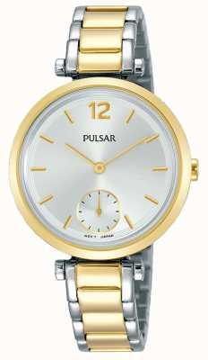 Pulsar Donne | cinturino in acciaio bicolore | quadrante bianco | PN4064X1