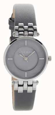 Anne Klein Cinturino da donna liliana grigio argento con cinturino in pelle AK/N2685GMGY