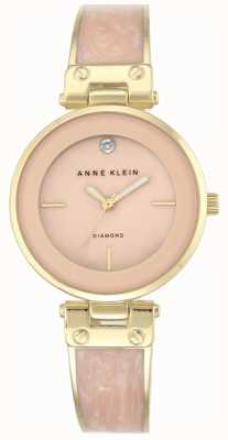 Anne Klein Quadrante rosa con cassa in oro amanda da donna AK/N2512LPGB