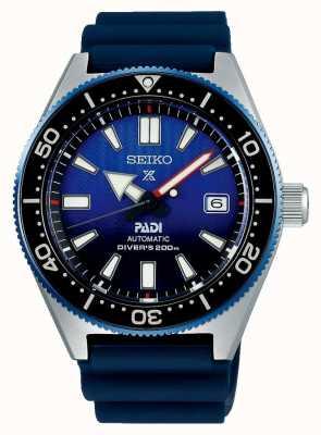 Seiko Prospex padi ricreazione blu quadrante cinturino in resina blu SPB071J1
