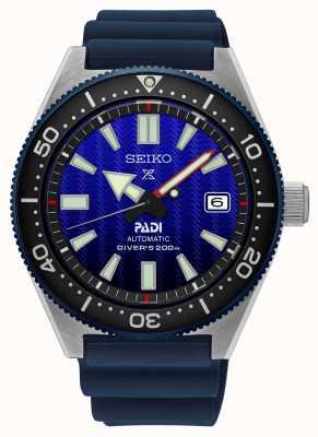 Seiko Prospex padi recreation quadrante blu cinturino in resina blu SPB071J1