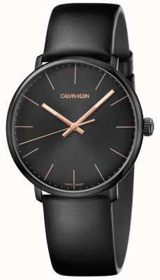 Calvin Klein Orologio da uomo mezzogiorno minimalista K8M214CB