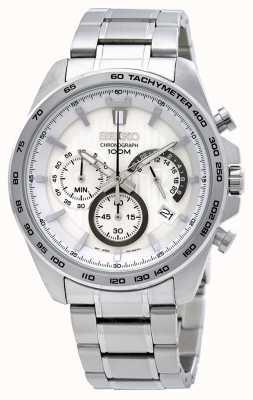 Seiko Orologio cronografo da uomo in acciaio inossidabile SSB297P1