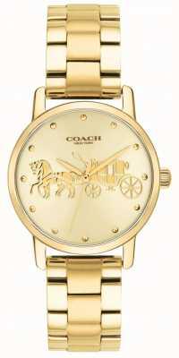 Coach Cassa e orologio da donna in oro massiccio 14502976