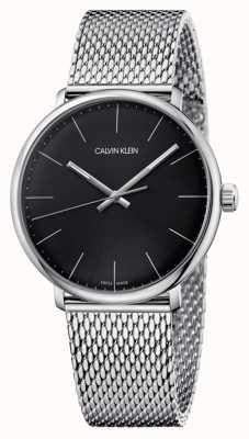 Calvin Klein Orologio da uomo con quadrante nero a mezzogiorno K8M21121