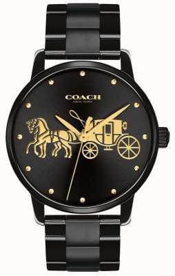 Coach Cassa e bracciale nero da donna 14502925