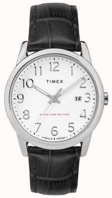 Timex Semplice firma del lettore con orologio in pelle da 38 mm TW2R64900