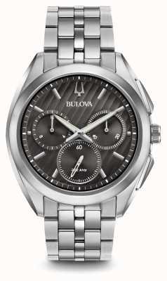 Bulova | curv | uomo | cronografo | acciaio inossidabile | 96A186