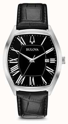 Bulova Mens classico ambassador in pelle 96B290
