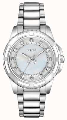 Bulova Designer donna diamante madreperla 96S144