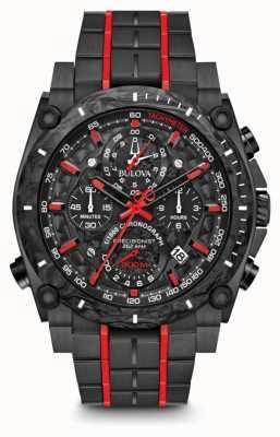 Bulova Cronografo Precisionist nero rosso uhf 98B313