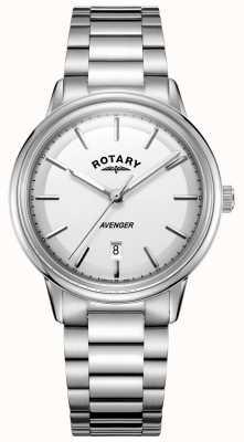 Rotary Orologio da uomo in acciaio inossidabile con cinturino in acciaio GB05340/02