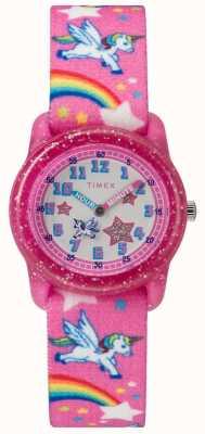 Timex Orologio analogico rosa unicorno giovanile TW7C255004E
