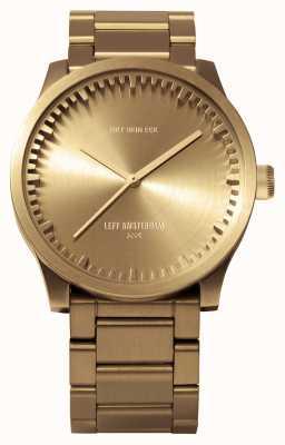 Leff Amsterdam Bracciale in ottone con cassa in ottone per orologio s38 LT71103