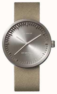 Leff Amsterdam Cinturino in cordura con cinturino in sabbia con cinturino in acciaio d42 LT72003