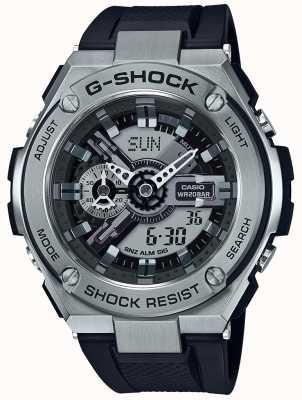 Casio Cinturino G-shock in acciaio nero g-shock GST-410-1AER