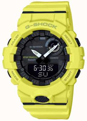 Casio Cinturino giallo per tracker fitness G-shock bluetooth GBA-800-9AER