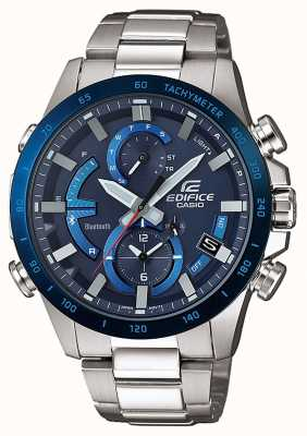 Casio Edifice bluetooth hard super illuminatore solare blu EQB-900DB-2AER