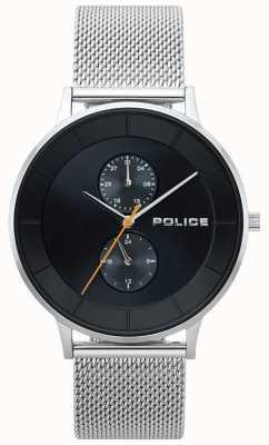 Police Orologio da uomo in maglia d'acciaio Berkeley 15402JS/02MM