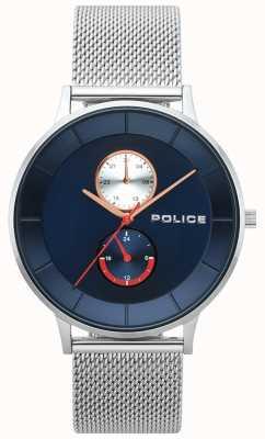 Police Orologio da uomo in maglia di acciaio berkeley 15402JS/03MM