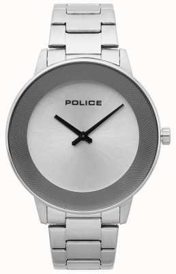 Police Orologio minimalista da uomo in acciaio inossidabile 15386JS/04M